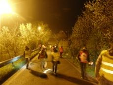 volontari sulla strada