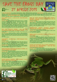 Programma Save the Frogs Day